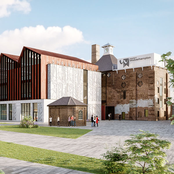 Contractor announced for School of Architecture on £100m Springfield site