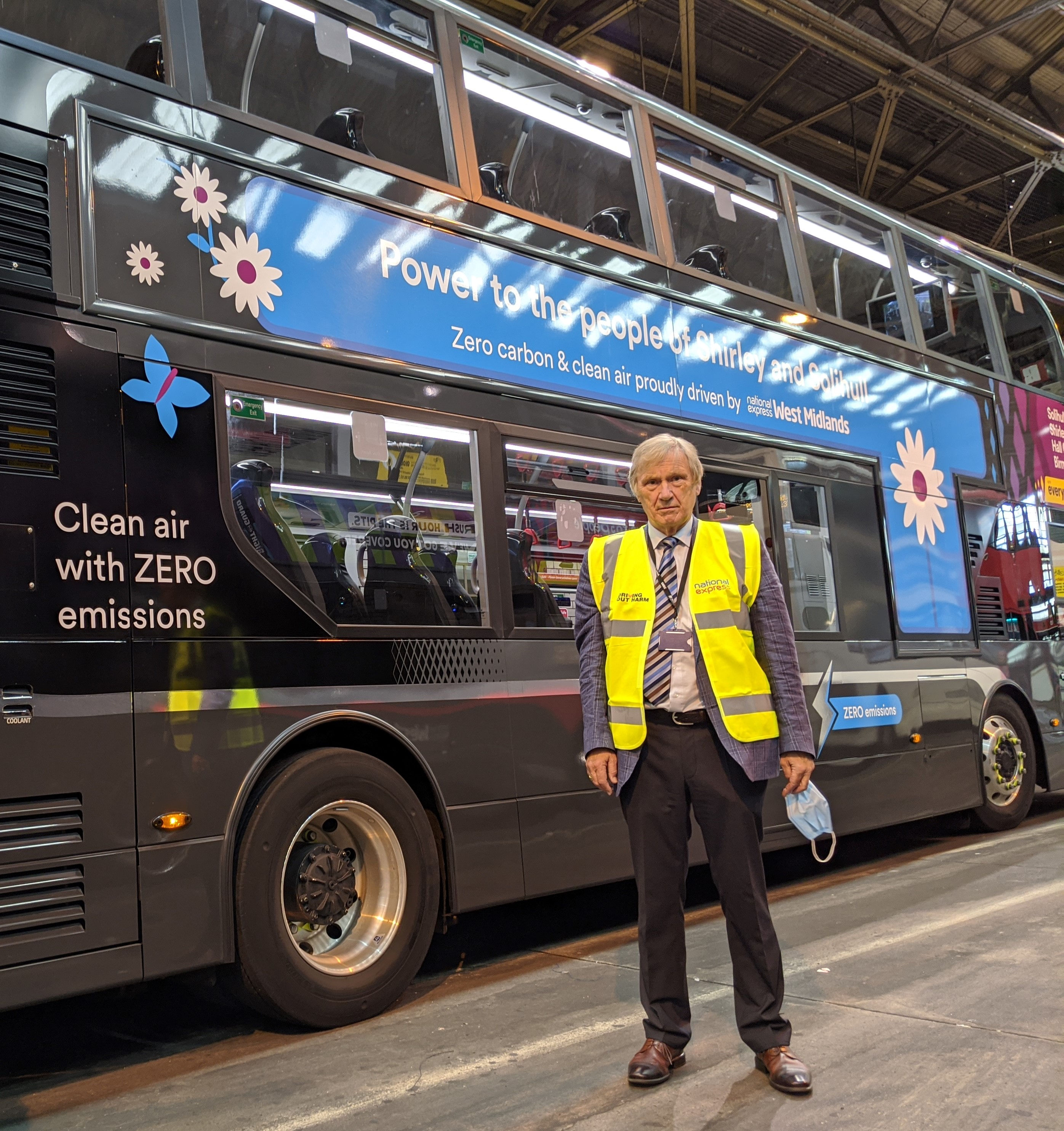 West Midlands Mayor praises bid to make bus fleet all electric