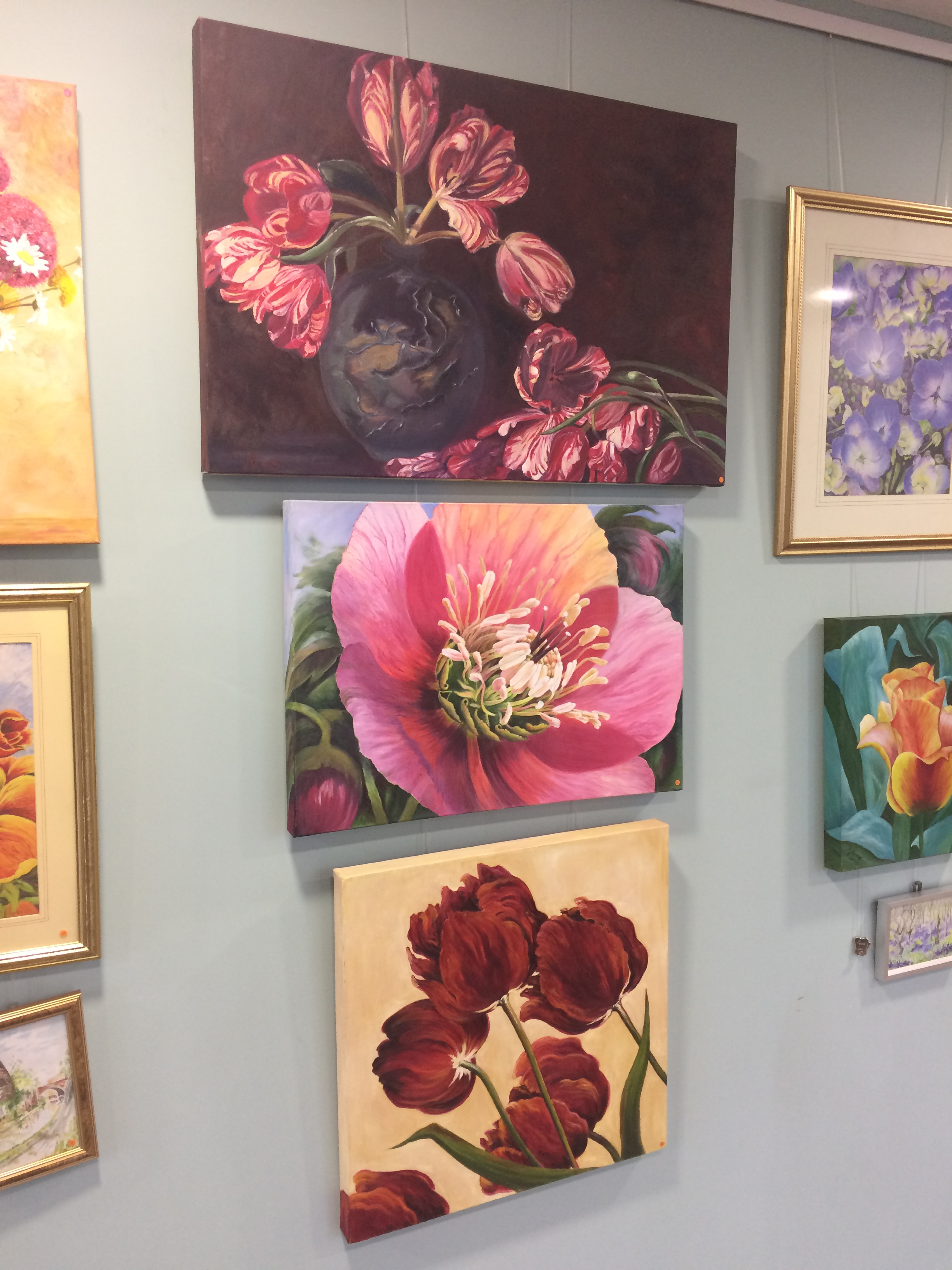 Local Castle Art Group Exhibit at the Portal
