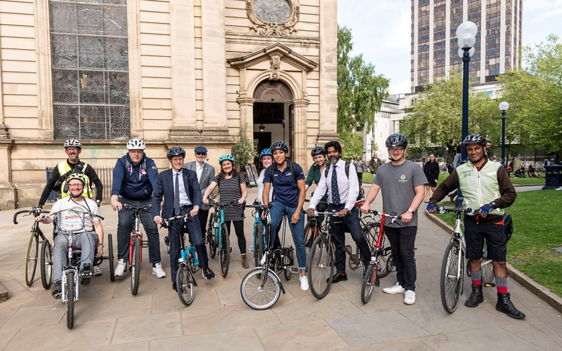 £2m fund for community cycling and walking projects receives more than 140 bids