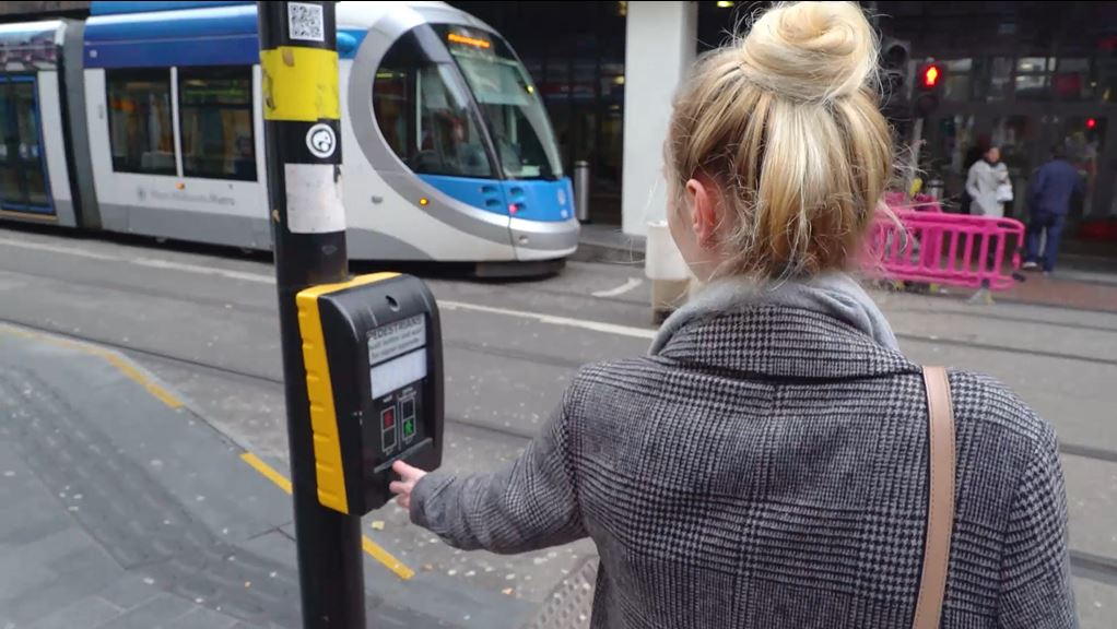 Trams are moving and Metro teams release safety video to mark Road Safety Week 2019