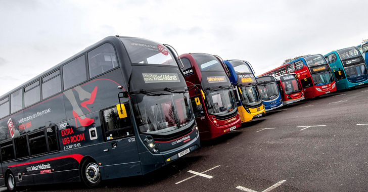 £30 million funding package to upgrade bus routes across Birmingham and the Black Country
