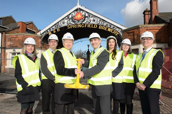 Ceremony breaks new ground in investment in manufacturing skills