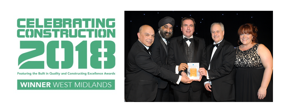 HVM City: Opportunity Gateway success at West Midlands Construction Excellence Awards