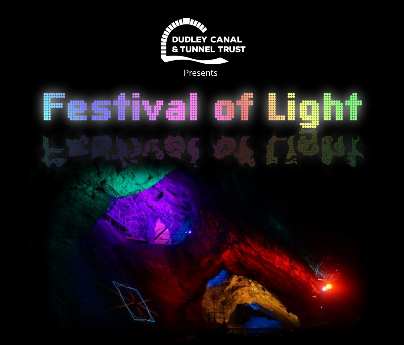 Dudley canal trust festival of light