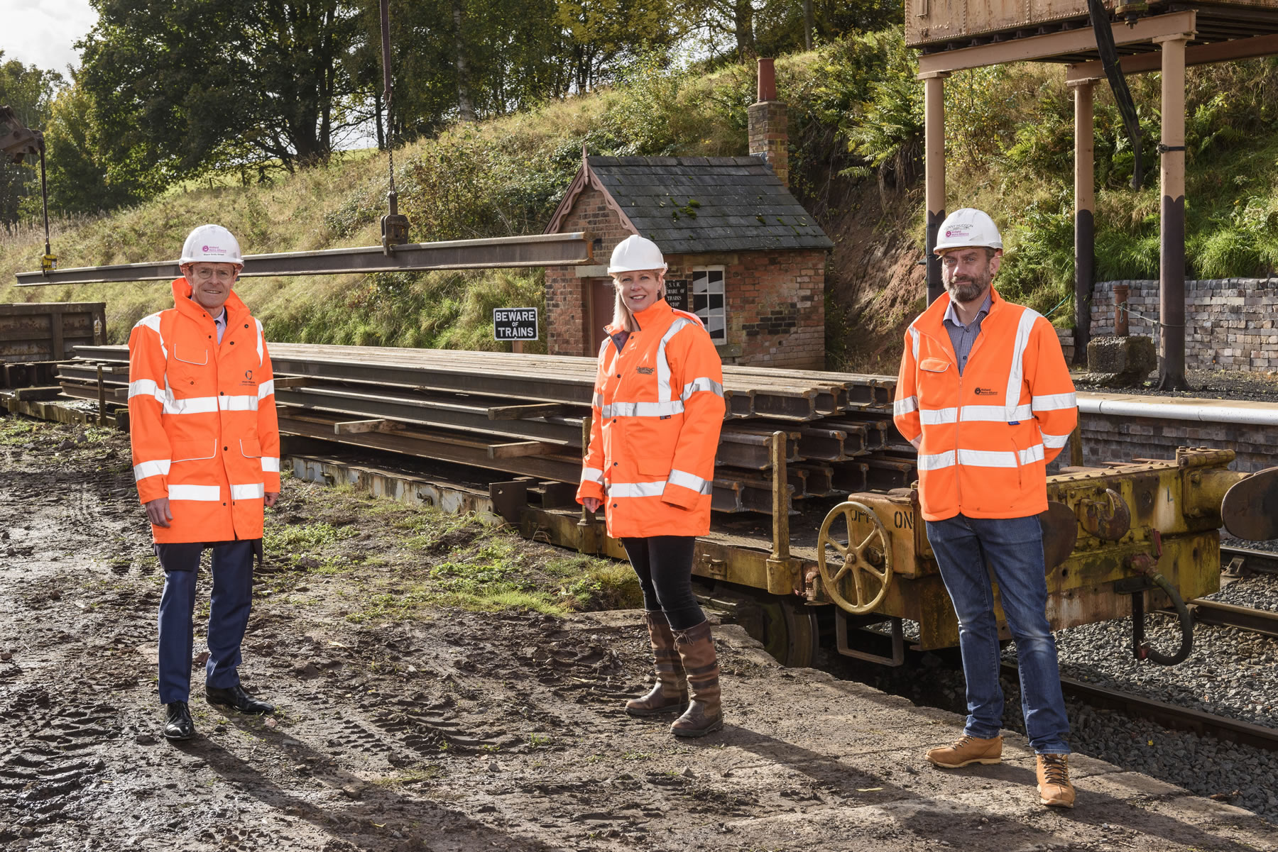 New life for old track at a leading Midlands heritage railway