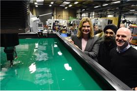 Cabinet Minister Justine Greening visits Black Country to see Growth Deal in action