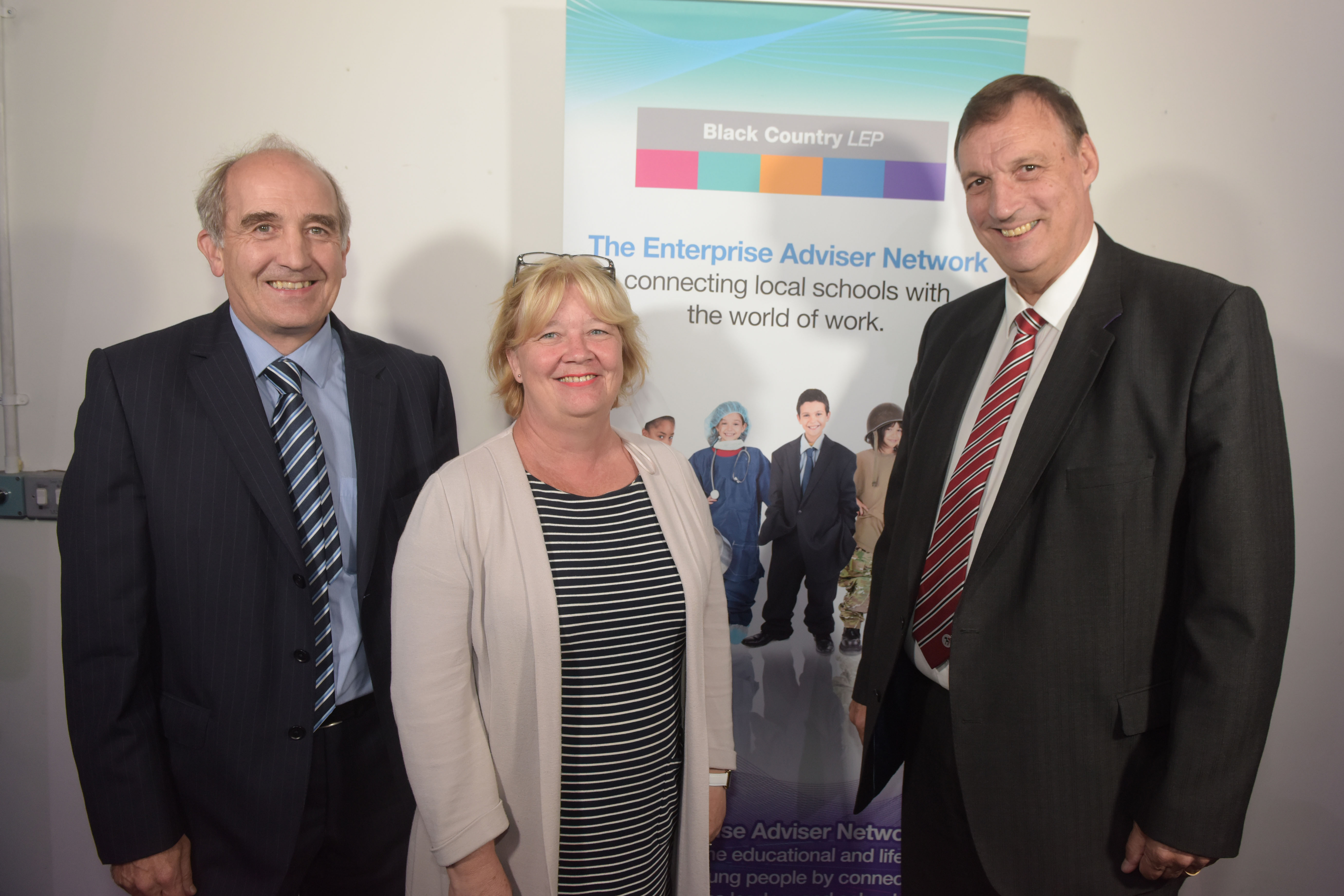 Black Country Careers Enterprise Advisers come together  with their schools to celebrate success of Programme