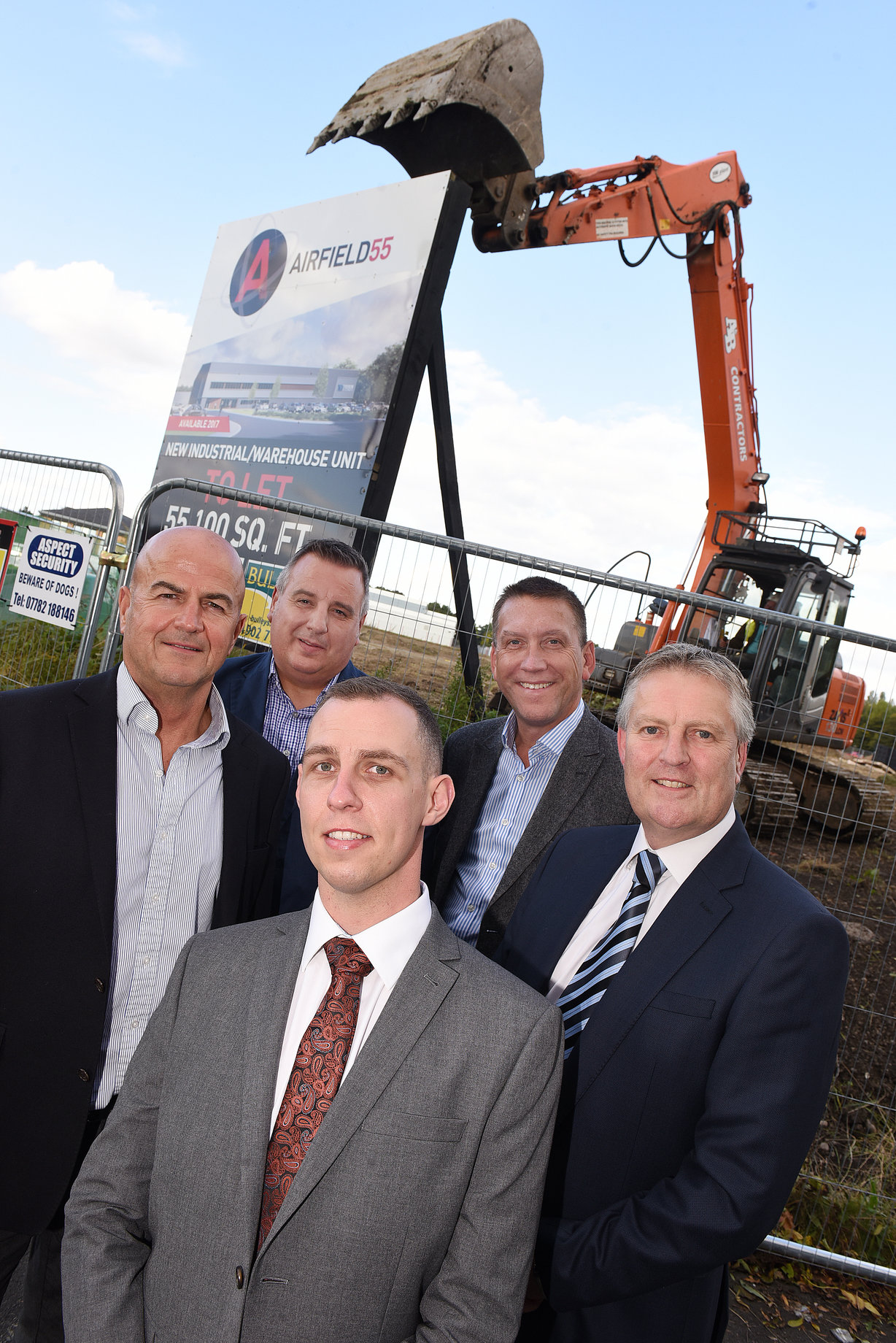 Airfield 55, Aldridge – Speculative Industrial Development Starts on Site